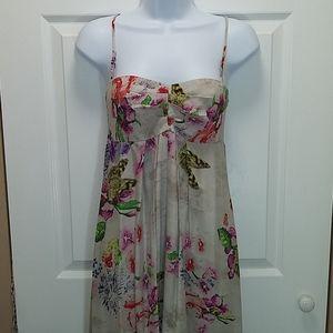 Betsey Johnson Collection Silk Maxi Dress
